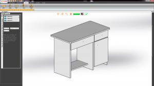 Mô hình bàn văn phòng