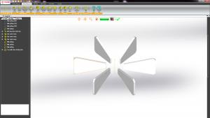 Mô hình quạt (Tạo mẫu theo đường tròn)