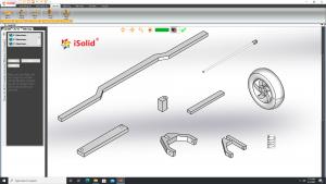 Hướng dẫn thiết kế khung xe ô tô trong phần mềm iSolid 3D Pro - Giao diện tiếng Việt | Tập 19