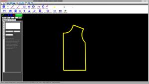 Bản vẽ thiết kế áo 2D
