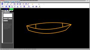 Thuyền 2D ( Xuồng ba lá )