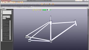 Mô hình sườn xe đạp (Bicycle Frame)