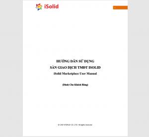 Hướng dẫn sử dụng Sàn Giao Dịch TMĐT iSolid - Khách hàng