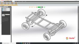 Hướng dẫn lắp ráp bánh xe hơi trong phần mềm iSolid 3D Pro - Giao diện tiếng Việt | Tập 22