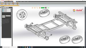 Hướng dẫn thiết kế khung xe ô tô trong phần mềm iSolid 3D Pro - Giao diện tiếng Việt | Tập 21
