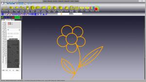 Bản Vẽ 2D Bông Hoa
