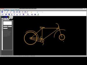 Vẽ Xe Đạp (GREATCAD2D_BICYCLE_RED)
