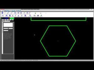 Vẽ đường nét cơ bản 2D (GREATCAD2D_CIRCLE_LINE_SPLINE_RECTANGLE_ARC_GREEN)