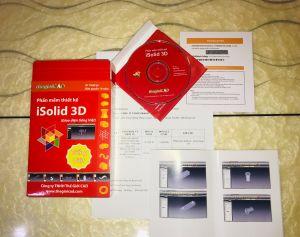 Phần mềm thiết kế iSolid 3D - Giao diện tiếng Việt - Phiên bản tiêu chuẩn 1.0.7.0
