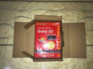 Đóng gói của Phần mềm thiết kế iSolid 3D - Giao diện tiếng Việt
