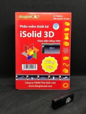 Phần mềm thiết kế iSolid® 3D phiên bản tiêu chuẩn – Giao diện tiếng Việt (USB/2020)