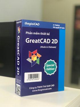 Phần mềm thiết kế GreatCAD 2D phiên bản đặc biệt