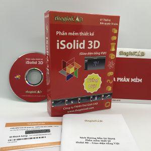 Phần mềm thiết kế iSolid 3D phiên bản tiêu chuẩn 1.0.7.0 – Giao diện tiếng Việt