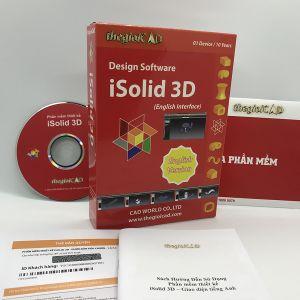 Phần mềm thiết kế iSolid 3D phiên bản tiêu chuẩn 1.0.7.0 – Giao diện tiếng Anh