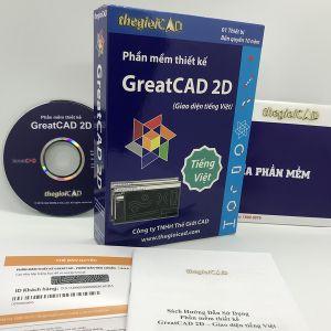 Phần mềm thiết kế GreatCAD phiên bản tiêu chuẩn 1.0.9.0 – Giao diện tiếng Việt