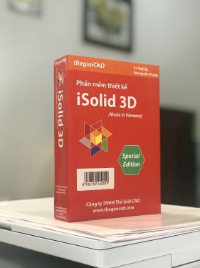 Phần mềm thiết kế iSolid 3D - 1.0.0.5 Version