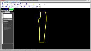 Bản vẽ thiết kế quần 2D