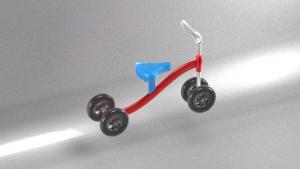 Mô hình xe đạp (*.dhp, *.stl)